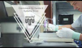 Ausbildung als Elektoniker für Geräte und Systeme (m/w/d) - Werde strazubi bei straschu