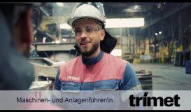 Ausbildung als Maschinen- und Anlagenfuehrer (m/w/d) bei TRIMET